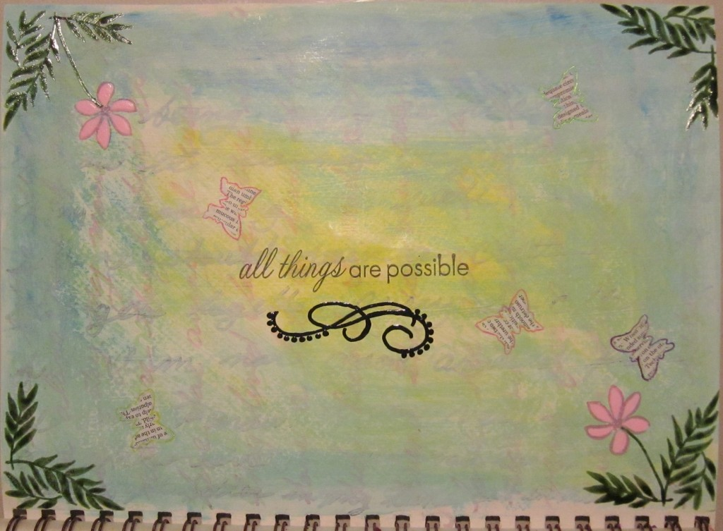 """""""All Things are Possible"""""""