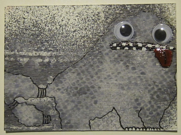 """Ink Splotch Monster 2"""