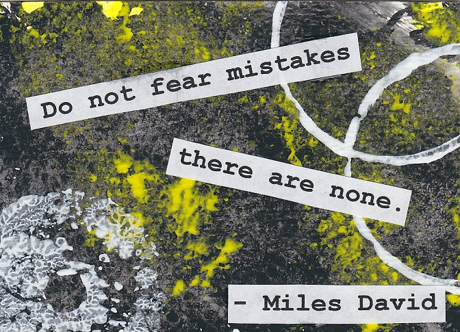 """""""No Mistakes"""""""