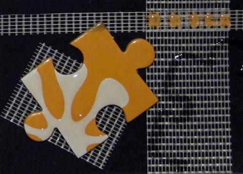 Textured Puzzle 6