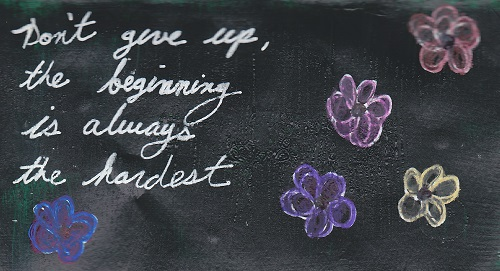 """Beginnings"""