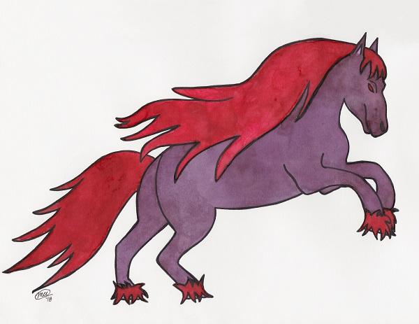 Kool Aid Horse