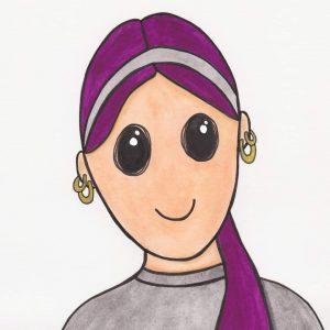 Watercolor Portrait of Me